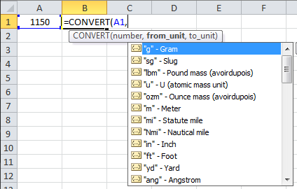 Select from Drop-down
