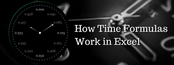 How Time Formulas work in Excel